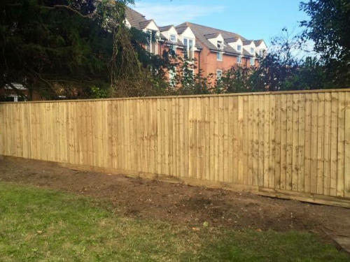 Quality Fencing Services by Dorset Tree Surgeons